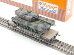 Roco 802 Minitanks Panzer Leopard 2 Schwerlastwagen DB KKK OVP MS