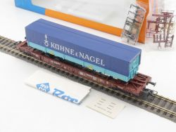 Roco 44311B Taschenwagen mit Auflieger Kühne & Nagel NEU! OVP MS