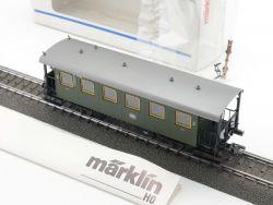 Märklin 4302 Wagen für Glaskasten 2. Kl DB Beleuchtung NEU! OVP ST MS