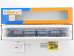 Roco 46460 Doppelstock Autotransportwagen 1:87 exact H0 NEU! OVP MS