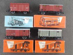 Märklin Konvolut 4x Güterwagen 4605 4550 4656 SBB FS um 1960 OVP