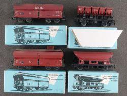 Märklin Konvolut 4x Güterwagen 4624 4626 4631 4635 1960er OVP