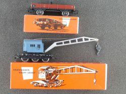 Märklin 4611 Kranwagen mit Kranschutzwagen 4503 vgl. 315/2 OVP
