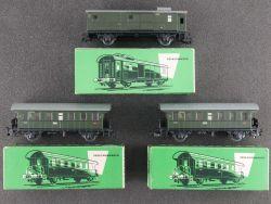 Märklin 3x Donnerbüchse Personenwagen 4002 4003 schön Karton OVP