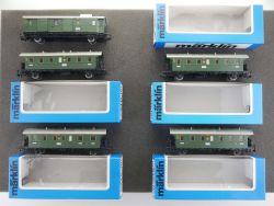 Märklin Konvolut 5x Donnerbüchse Reichsbahn 4100 4101 4102 TOP OVP MS