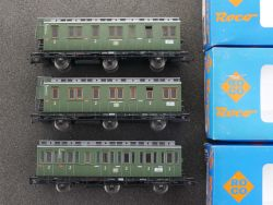 Roco 3x Abteilwagen DB 44222A 44500 44205A AC für Märklin TOP OVP MS