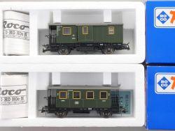 Roco Konvolut 2x Lokalbahnwagen DB 44800 44804 KKK NEU! OVP MS