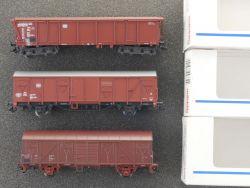 Märklin Konvolut 3x Güterwagen Rolldachwagen 4726 4732 4701 OVP MS