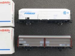 Märklin Konvolut 2x Güterwagen Kühlwagen 4733 4734 KKK NEU! OVP MS