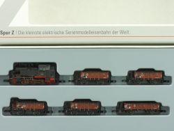 Märklin 81352 mini-club Zugset Güterzug Kohletransport DB TOP OVP AW