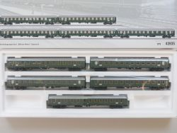 Märklin 43935 Schnellzugwagen-Set D96 Isar-Rhone SBB LED NEU OVP AW