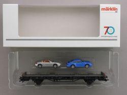 Märklin 45056 Autotransporter 70 Jahre Porsche Sportwagen 6 OVP AW