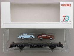 Märklin 45054 Autotransporter 70 Jahre Porsche Sportwagen 4 OVP AW