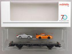 Märklin 45057 Autotransporter 70 Jahre Porsche Sportwagen 7  OVP AW