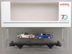 Märklin 45058 Autotransporter 70 Jahre Porsche Sportwagen 8 OVP AW