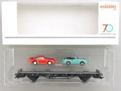 Märklin 45055 Autotransporter 70 Jahre Porsche Sportwagen 5 OVP AW