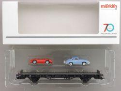 Märklin 45052 Autotransporter 70 Jahre Porsche Sportwagen 2 OVP AW