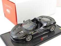 BBR Ferrari J50 Daytona Lucido Black Resin limited nur 24x! OVP AW
