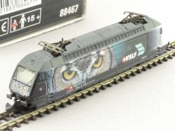 Märklin 88467 Mini-Club Elektrolok Serie 460 Eule VSLF SBB CH OVP AW