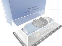 Spark WAX02100014 Porsche 911 Targa 4S Aetna Blue Resin OVP AW