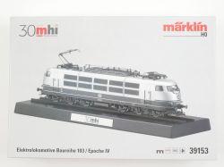 Märklin 39153 E-Lok BR 103 silber mhi Digital mfx Sound NEU! OVP AW