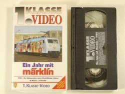 1.Kl Video Film Ein Jahr mit Märklin 1998 VHS 800 neuwertig! OVP