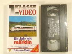 1.Kl Video Film Ein Jahr mit Märklin 1999 VHS 800 NEU unbenützt OVP ZZ