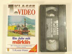 1.Kl Video Film Ein Jahr mit Märklin 2000 VHS 800 MIB NEU OVP ZZ