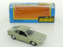 Solido gam1 No.52 Lancia Beta Coupe OVP BOX Fiat Diecast