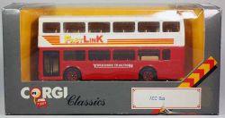 Corgi C675/6 Classics AEC Bus Yorkshire 1:64 Modellauto OVP