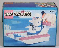 LEGO 6513 Air Boot mit Figur bauen spielen ungebaut OVP