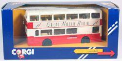 Corgi Metrobus Great North Radio Stadtbus Doppeldecker 1:64 OVP