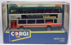 Corgi 91856 Metrobus Cowie Interleasind Stadtbus Doppeldecker 1:64 OVP