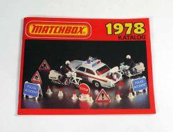 Matchbox Katalog 1978 alt selten perfekt erhalten NOS mint neu Deutsch