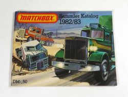 Matchbox Katalog von 1982 1983 mit Superfast Superkings alt top mint NOS