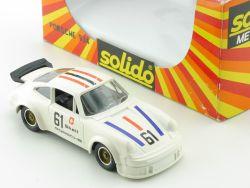 Solido 1323 Porsche 934 Schweiz Shell No.61 Modellauto 1:43 OVP