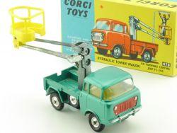 Corgi 478 Toys Jeep FC-150 Hydraulic Tower Wagon Modellauto 1:43 OVP