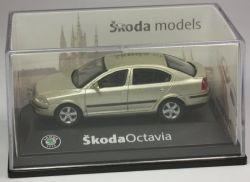 Abrex Skoda Octavia Limo goldmetallic Modellauto PKW 1:72 OVP ST