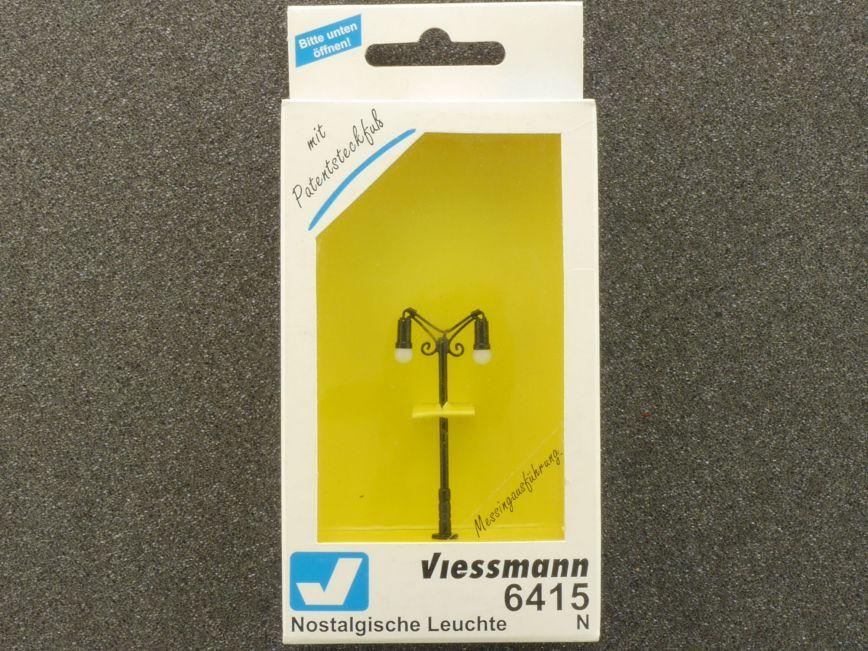 /H0/Sheet Gas Lantern Viessmann 6012/