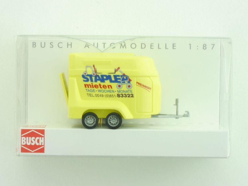 busch 44921 transport anh nger stapler mieten augsburger spielzeugkiste. Black Bedroom Furniture Sets. Home Design Ideas
