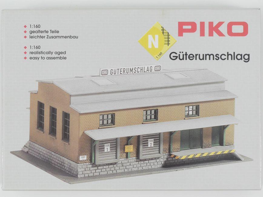 Bausatz Bahnhof Burgstadt Piko 60023 Spur N Kunststoff NEU