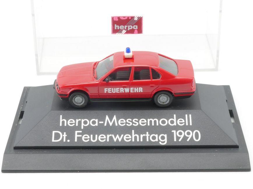 OVP Herpa 1//87 BMW Dt KV2533 Feuerwehrtag 1990 Herpa Messemodell PC