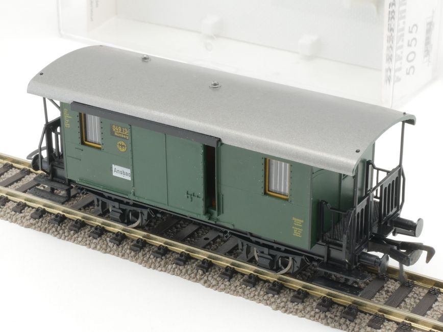 Gepäckwagen DRG Fleischmann 5074 ohne OVP NEU 1//87 H0 LF4