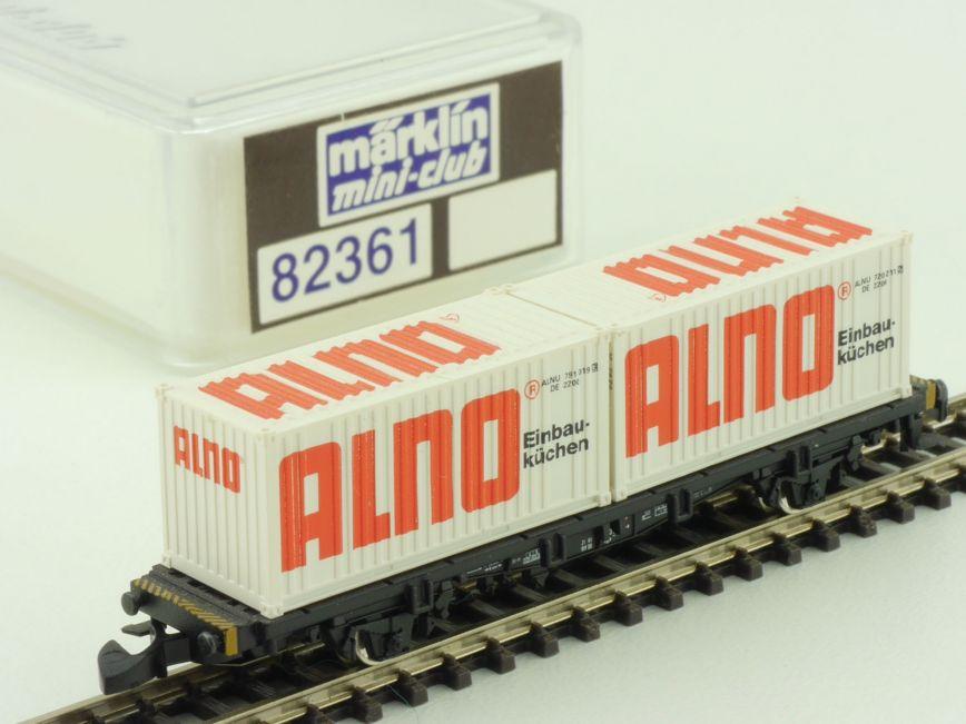 Marklin 82361 mini club containerwagen alno einbaukuchen for Ebay einbauküchen neu