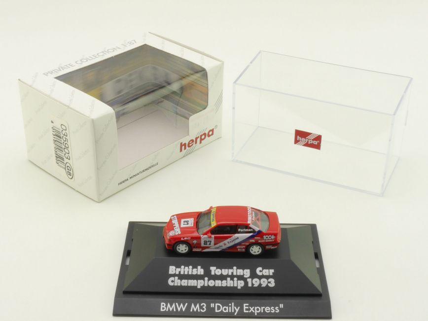 "BMW M3 /""Daily Express/"" BTCC /'93 PC 035903GB Herpa"