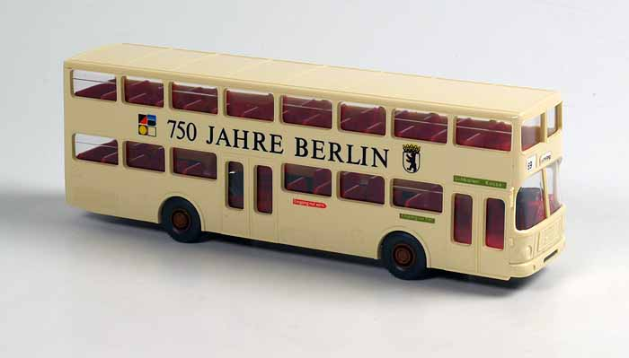wiking 750 jahre berlin doppeldecker bus man augsburger spielzeugkiste. Black Bedroom Furniture Sets. Home Design Ideas