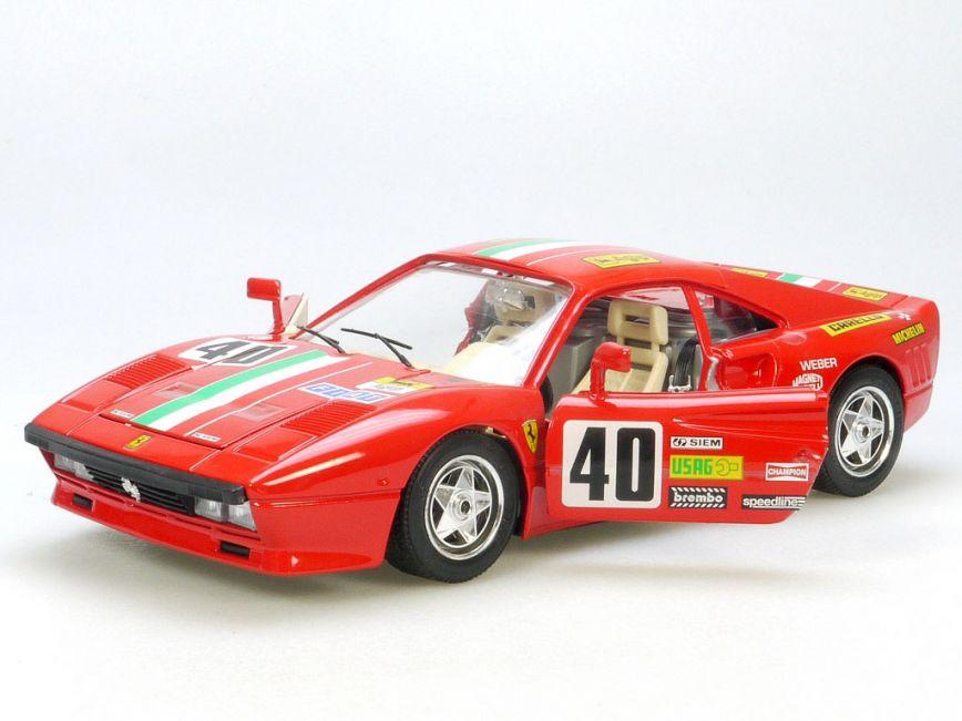 Bburago Burago 3027 ferrari GTO 1984 1984 1//18 MIB OVP St 1407-24-12